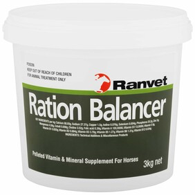 Ranvet Ration Balancer 3kg