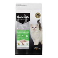 Blackhawkawk Kitten Chicken & Rice 3kg