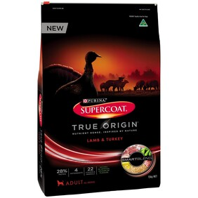 Supercoat True Origin Lamb/Turkey 15kg